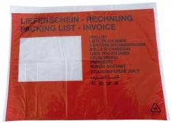 Begleitpapiertaschen mit Aufdruck Lieferschein - Rechnung, C5, 250 Stück