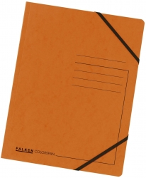 Eckspanner A4 Colorspan - intensiv orange, Karton 355 g/qm